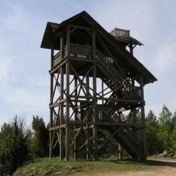 Wieża widokowa w Mielniku