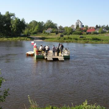 Przeprawa promowa w Drohiczynie