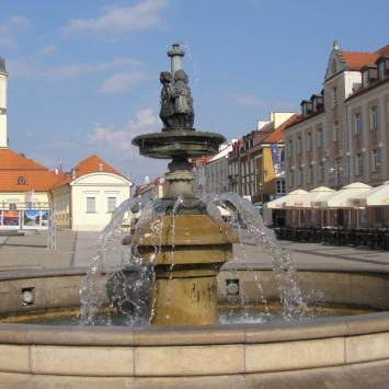 Fontanna przy Ratuszu w Białymstoku