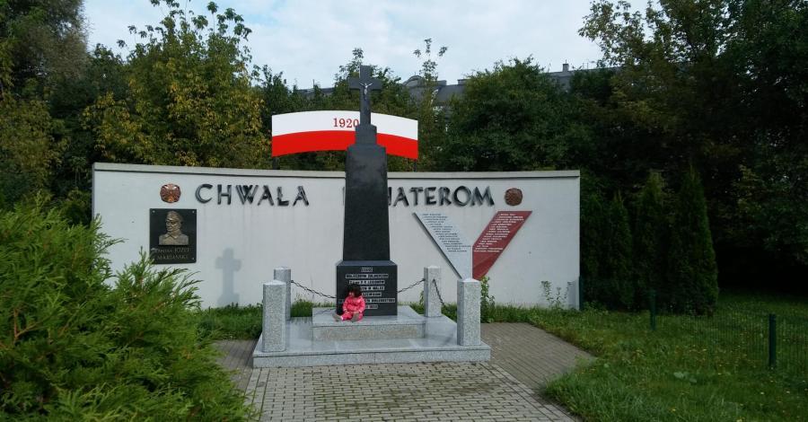 Pomnik 1. Pułku Piechoty Legionów w Białymstoku - zdjęcie