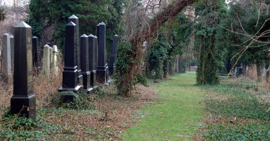 Cmentarz żydowski w Bielsku-Białej - zdjęcie