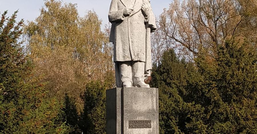 Pomnik Stanisława Moniuszki w Częstochowie - zdjęcie