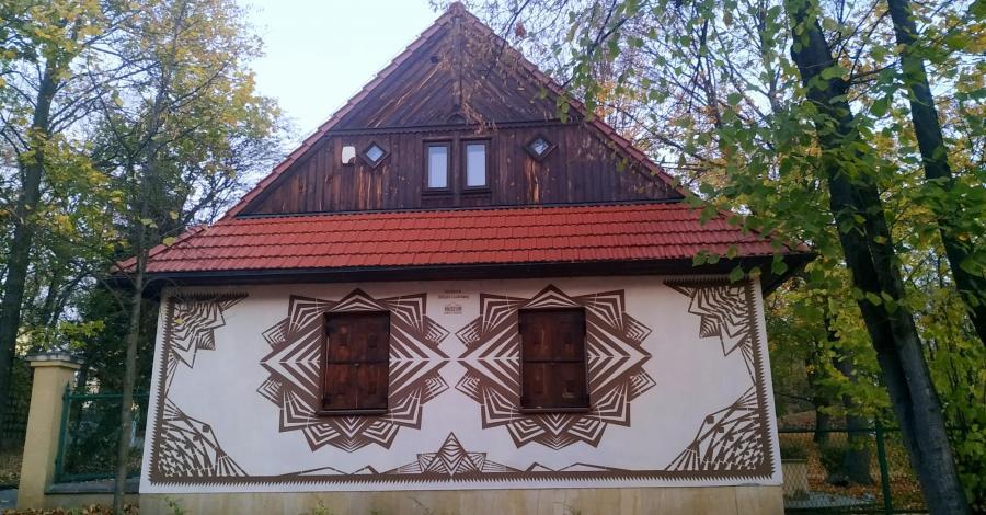 Mural Wycinanki w Częstochowie, Magdalena