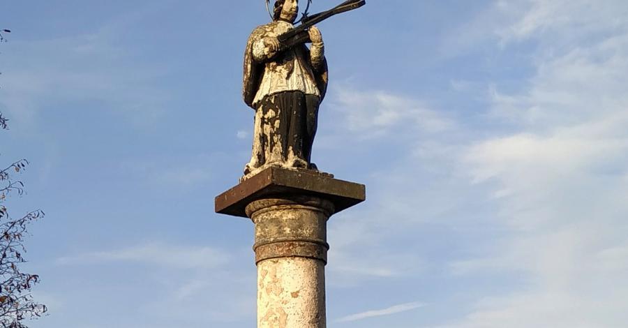 Figura Św. Nepomucena w Częstochowie - zdjęcie
