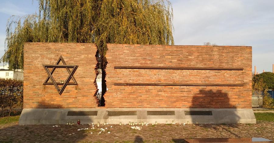 Pomnik Pamięci Żydów w Częstochowie - zdjęcie