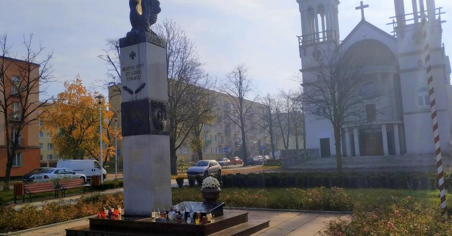 Pomnik Orląt Lwowskich w Częstochowie - zdjęcie