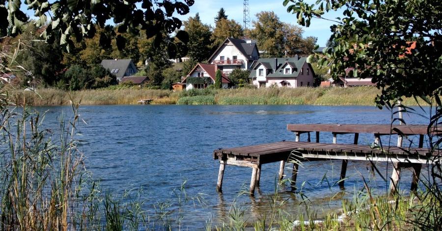 Jezioro Wisełka w Wisełce - zdjęcie