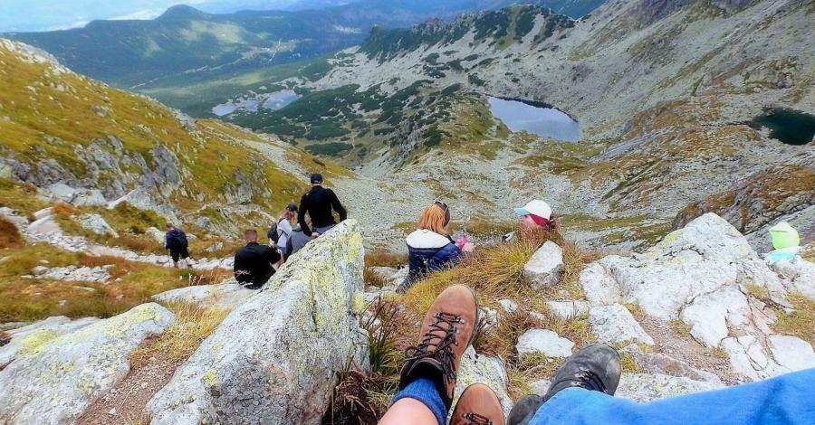 Przełęcz Świnicka w Tatrach - zdjęcie