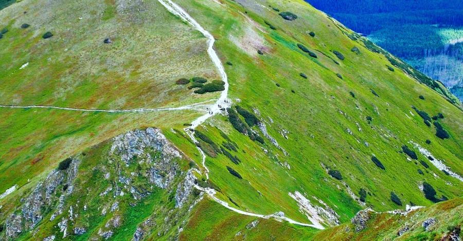 Siwa Przełęcz w Tatrach - zdjęcie