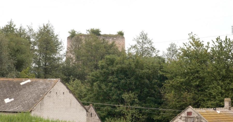 Zamek w Tudorowie - zdjęcie