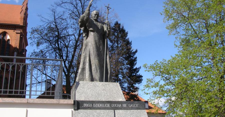 Pomnik Jana Pawła II w Białymstoku - zdjęcie