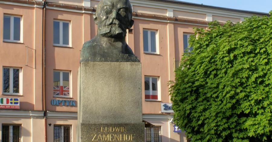 Pomnik Ludwika Zamenhofa w Białymstoku - zdjęcie