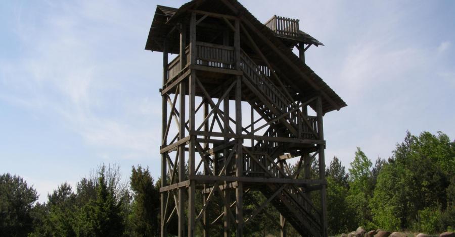 Wieża widokowa w Mielniku - zdjęcie