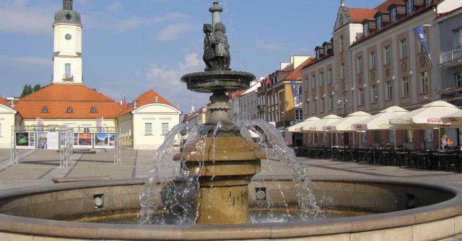 Fontanna przy Ratuszu w Białymstoku - zdjęcie