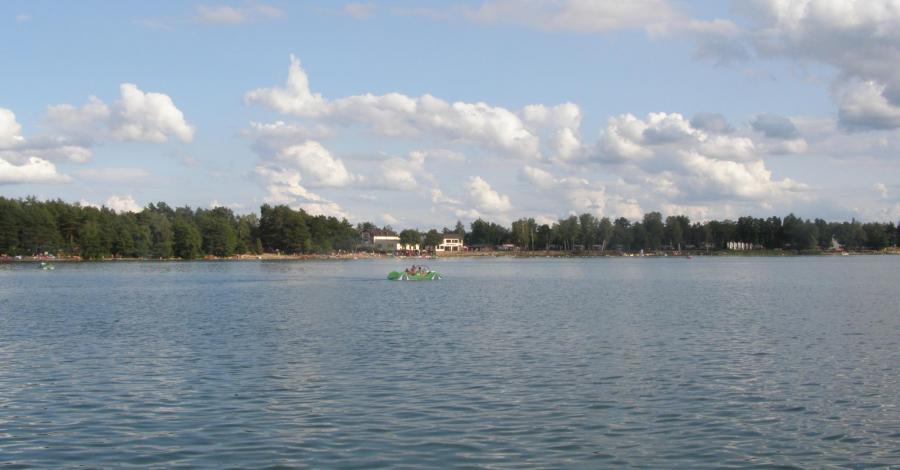 Jezioro Białe w Okunince - zdjęcie