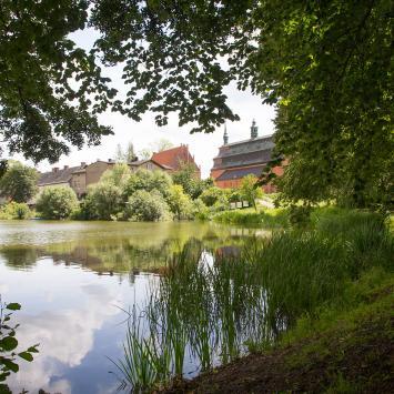 Jezioro Klasztorne w Kartuzach