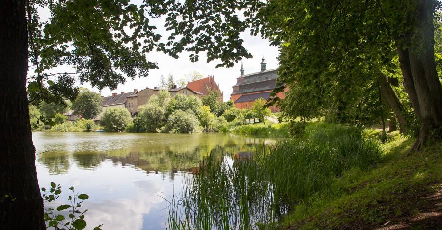 Jezioro Klasztorne w Kartuzach - zdjęcie