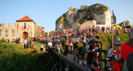 Turniej Rycerski na zamku w Rabsztynie - zdjęcie