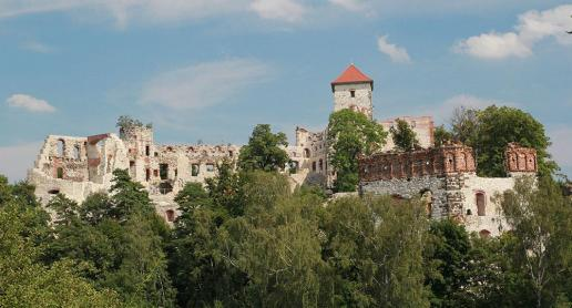 Zamek Tenczyn na fotografiach - zdjęcie