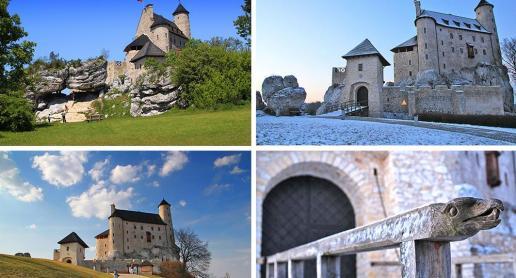 4 pory roku - Zamek Bobolice - zdjęcie