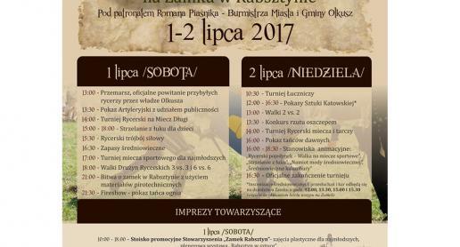 XIII Turniej Rycerski na Zamku Rabsztyn - zdjęcie