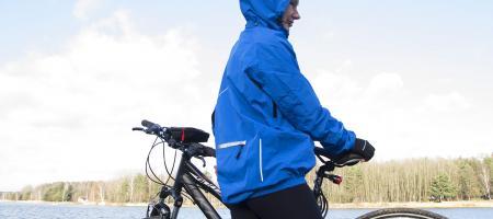 Na chłód, deszcz i wiatr rowerowa kurtka Rainy, KROSS
