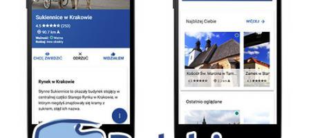 Nowa wersja aplikacji Polskie Szlaki