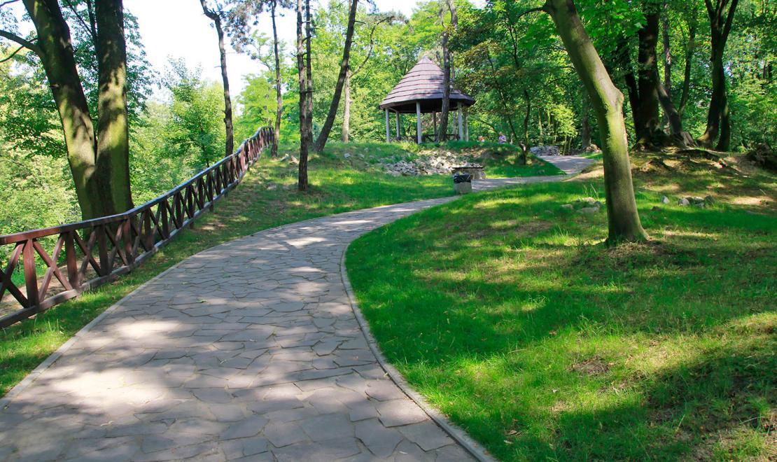 Góra Miłości w Parku Kachla