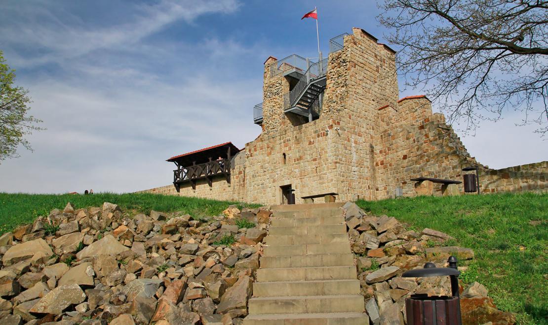 Mury miejskie w Dobczycach
