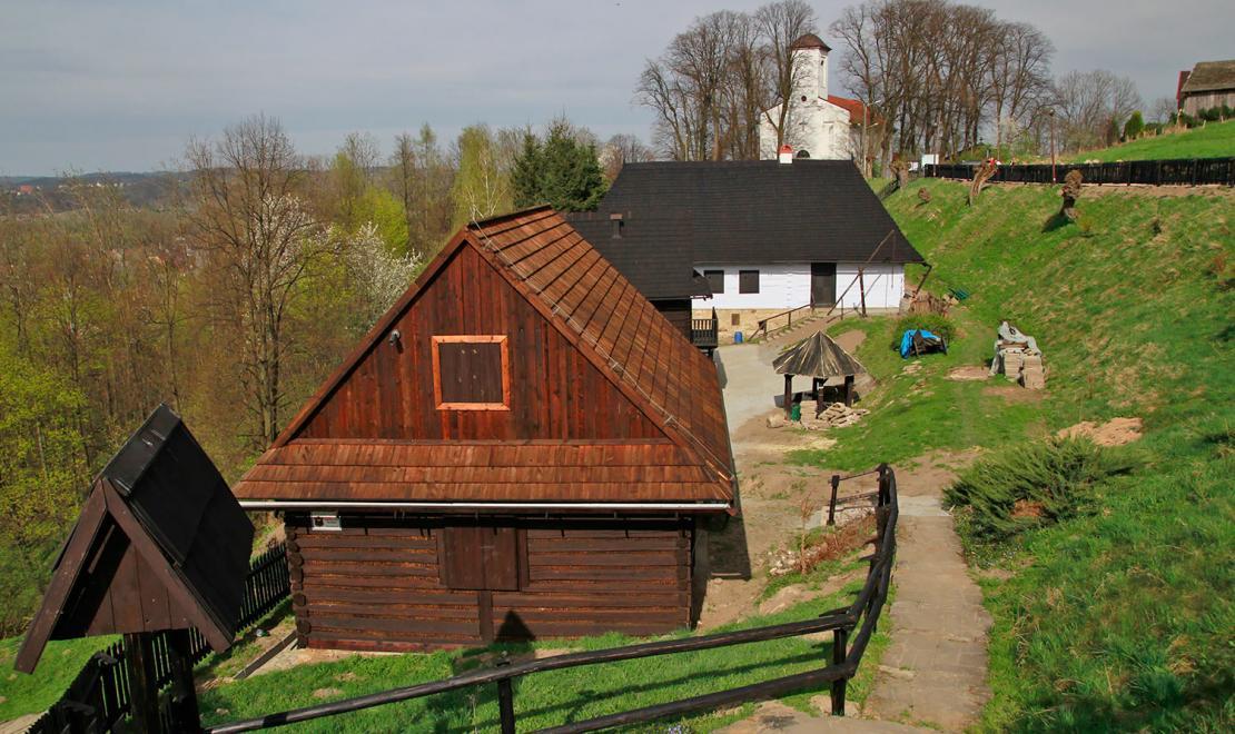 Skansen w Dobczycach