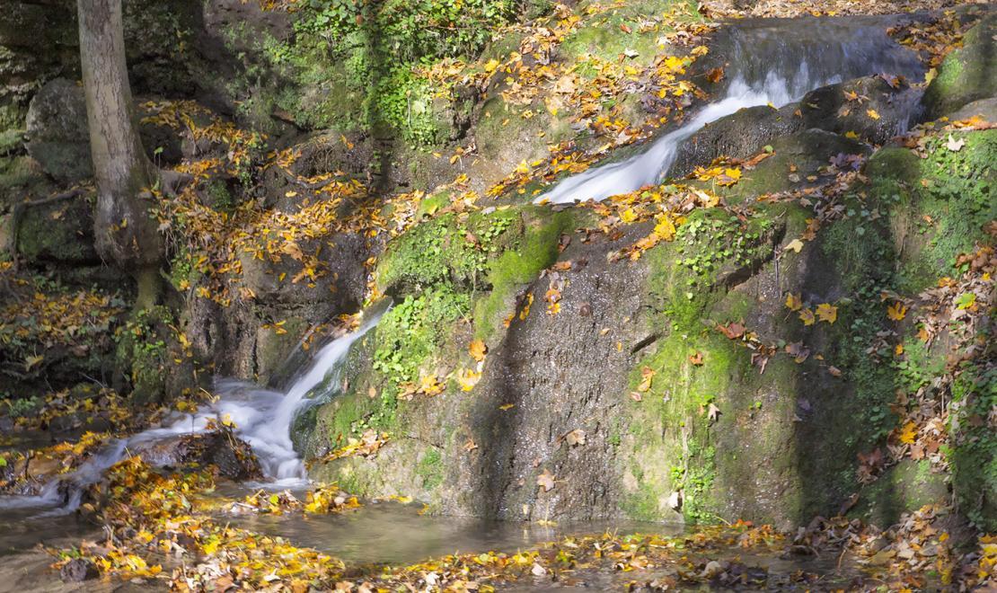 Wodospad Szum w Dolinie Będkowskiej