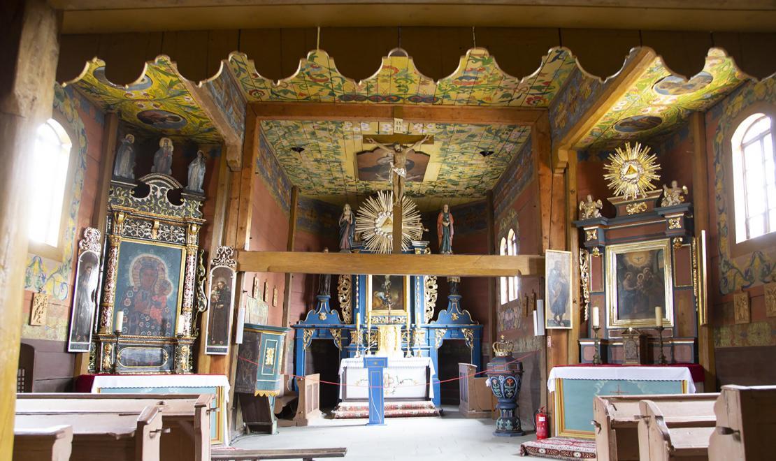 Nieco krzywe prezbiterium