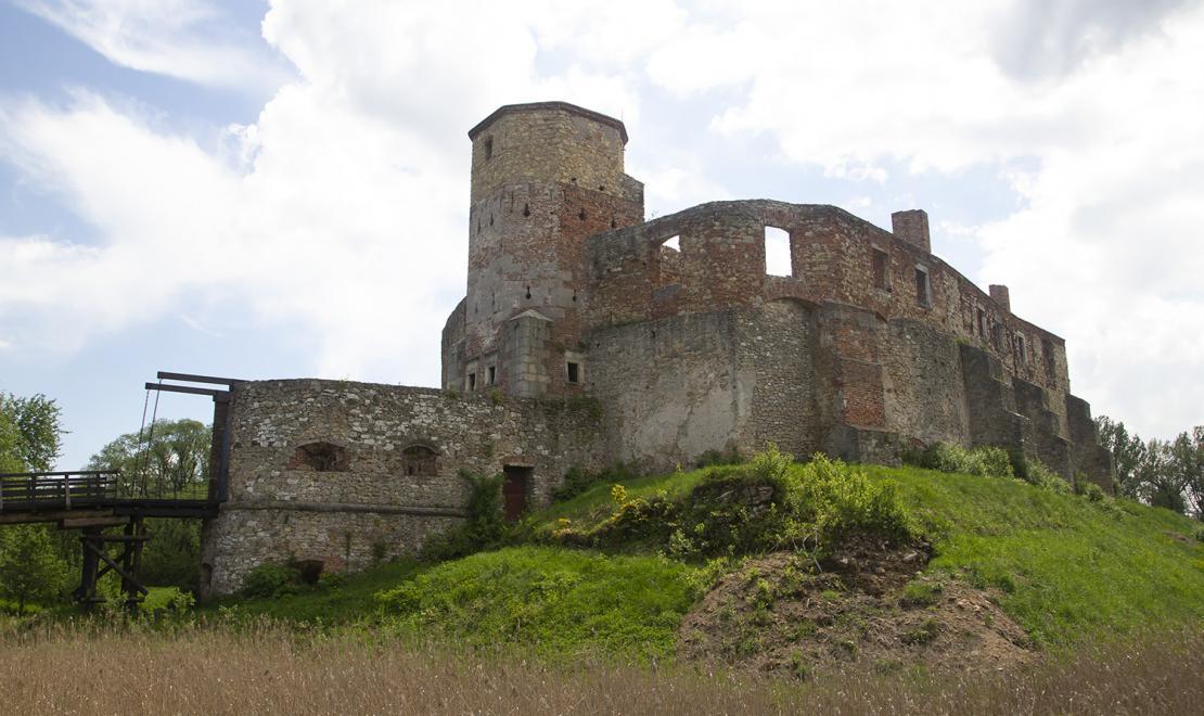Ruiny zamku w Siewierzu