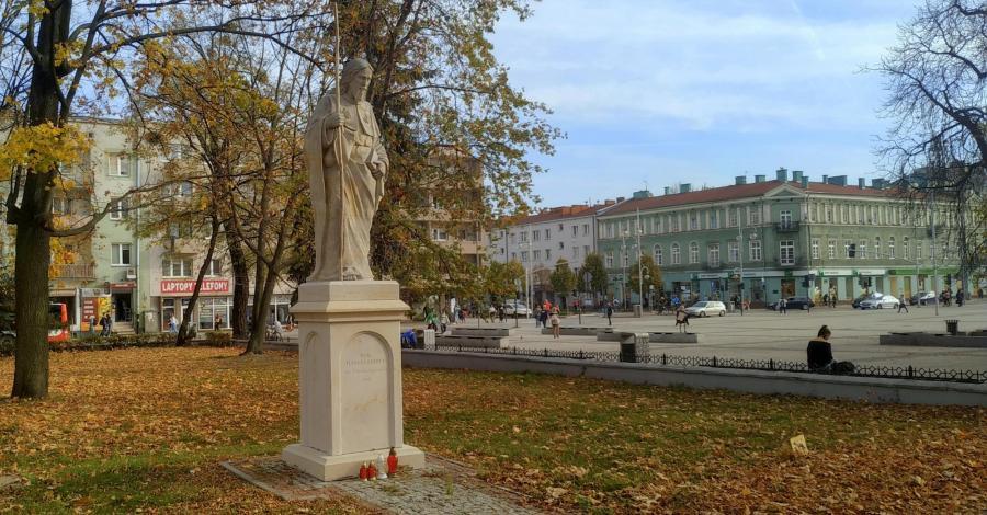 Figura Św. Jakuba w Częstochowie - zdjęcie
