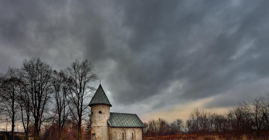 Tajemnicza Kapliczka w Sosnowcu - zdjęcie