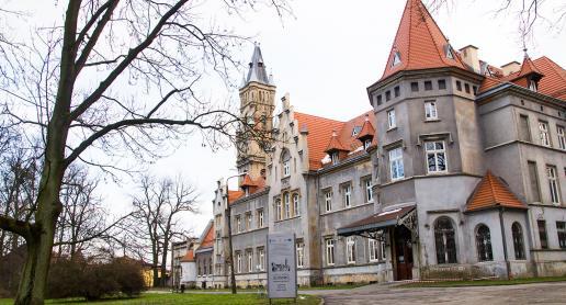 Pałac jak bajkowe zamczysko - zdjęcie