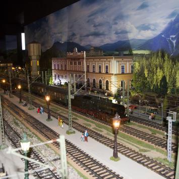 Makieta kolejowa Semafor w Tarnowskich Górach