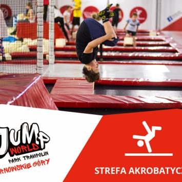 Park Trampolin JumpWorld w Tarnowskich Górach