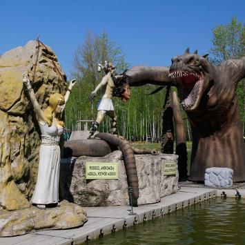 Park Mitologii w Zatorlandzie