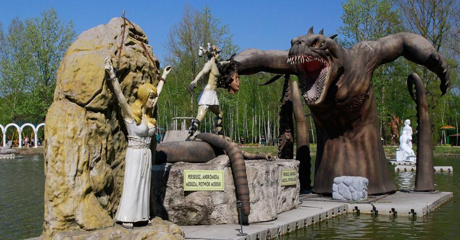 Park Mitologii w Zatorlandzie - zdjęcie
