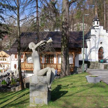 Kapliczka MB Królowej Nieba w Szczawnicy