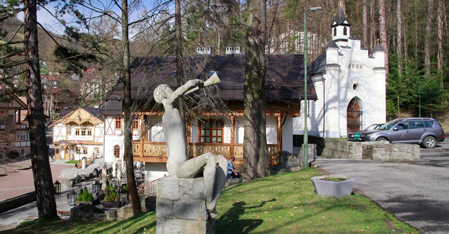 Kapliczka MB Królowej Nieba w Szczawnicy - zdjęcie