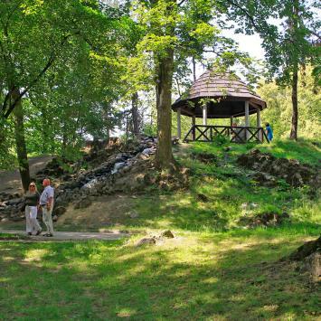 Park Kachla w Bytomiu
