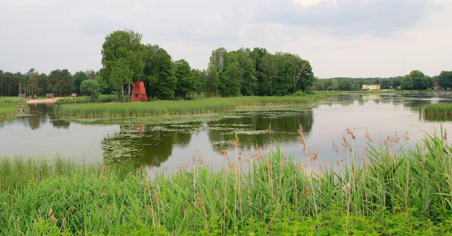 Zalew Zielona w Kaletach - zdjęcie