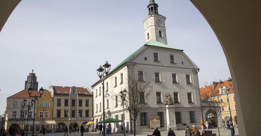 Rynek w Gliwicach - zdjęcie
