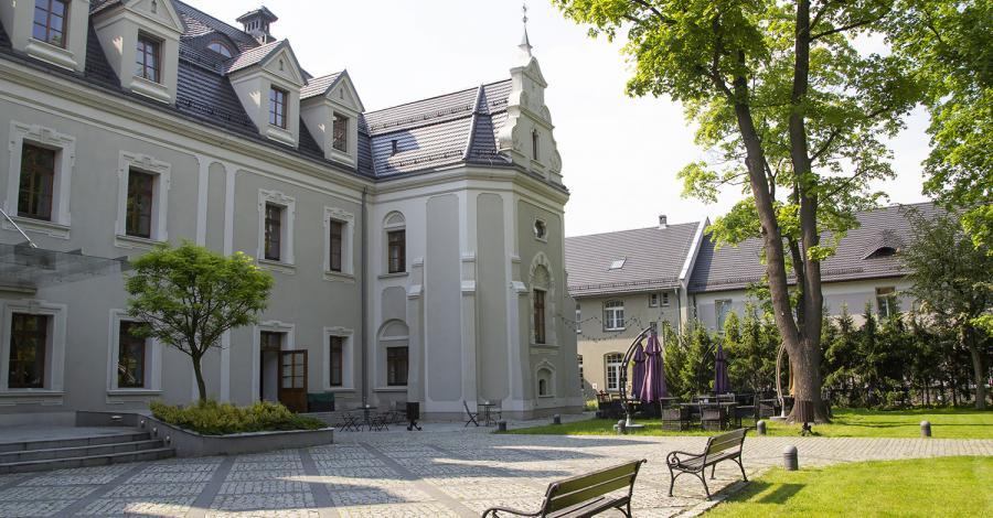 Zamek w Lublińcu - zdjęcie