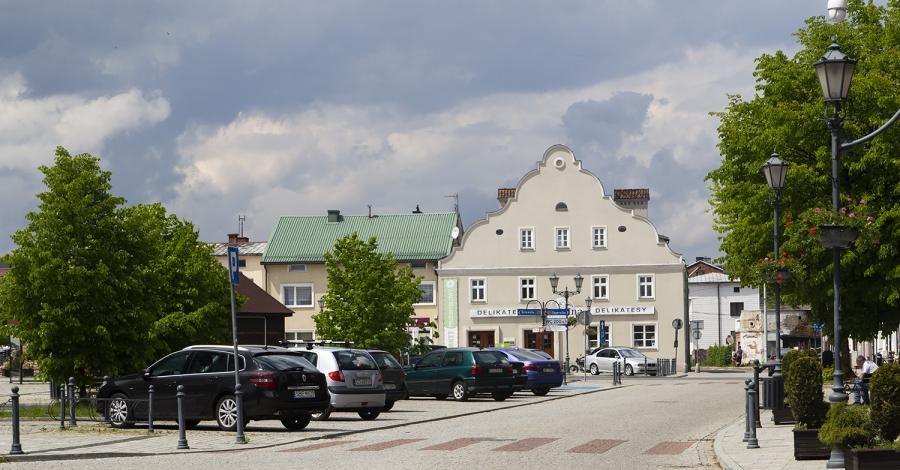 Rynek w Siewierzu - zdjęcie