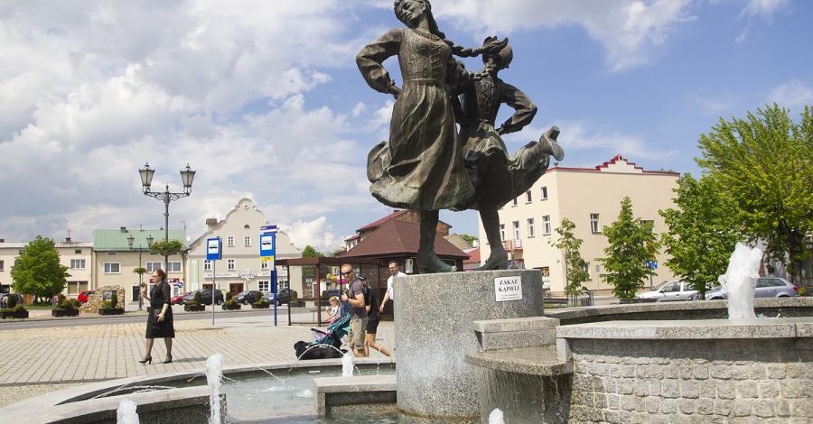 Fontanna Siewierskie Panny - zdjęcie