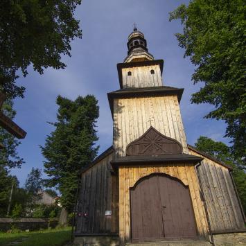 Drewniany kościół w Kasinie Wielkiej