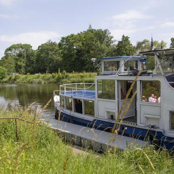 Rejsy statkiem po Kanale Gliwickim